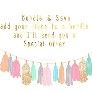 BUNDLE AND SAVE ON 2+ ITEMS 🎉